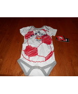 NWT MLS NEW YORK N.Y. RED BULL Creeper / BODY SUIT Infants 18M months Ne... - $11.87