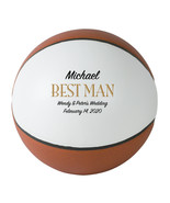 Best Man Regulation Basketball Wedding Gift - Personalized Wedding Favor - $59.95