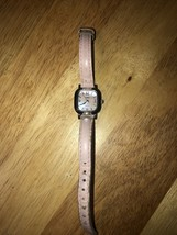 Womans Timex Mother Of Pearl Dial Quartz Watch - $17.82