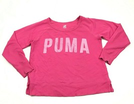 PUMA Dry Cell Long Sleeve Shirt Women's Size Large L Pink Pullover Boat ... - $23.53