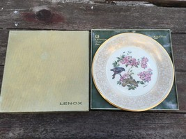 Lenox 1975 Edward Marshall Boehm Birds American Redstart Bird Plate W Box - $14.80