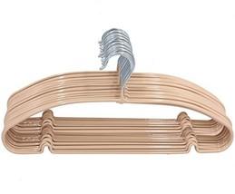Kabudar Metal Clothes Hanger Coat Hangers Non Slip,Chrome and Rubber Coa... - $339,67 MXN