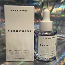 FULL SIZE HERBIVORE BAKUCHIOL Smoothing Serum 30mL Vegan Retinol Alternative NIB