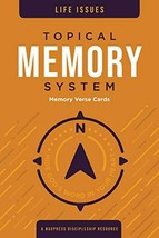 Topical Memory System: Life Issues, Memory Verse Cards: Hide God's Word ... - $14.99
