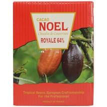 Noel Dark Chocolate Pistoles - Bittersweet 64%, Royale - bulk - 55 lbs - $475.79