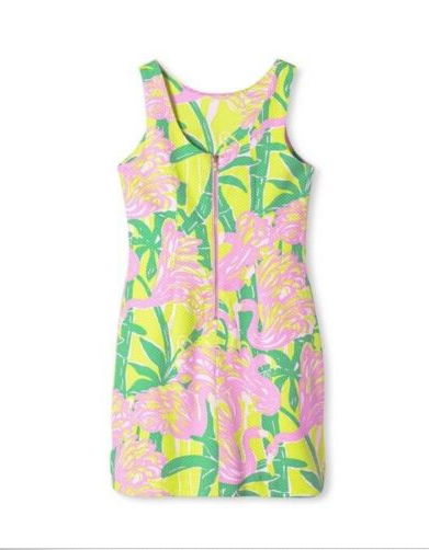 NWT LILLY PULITZER MULTI HIBISCUS STROLL CATHY SHIFT DRESS 8 14 16