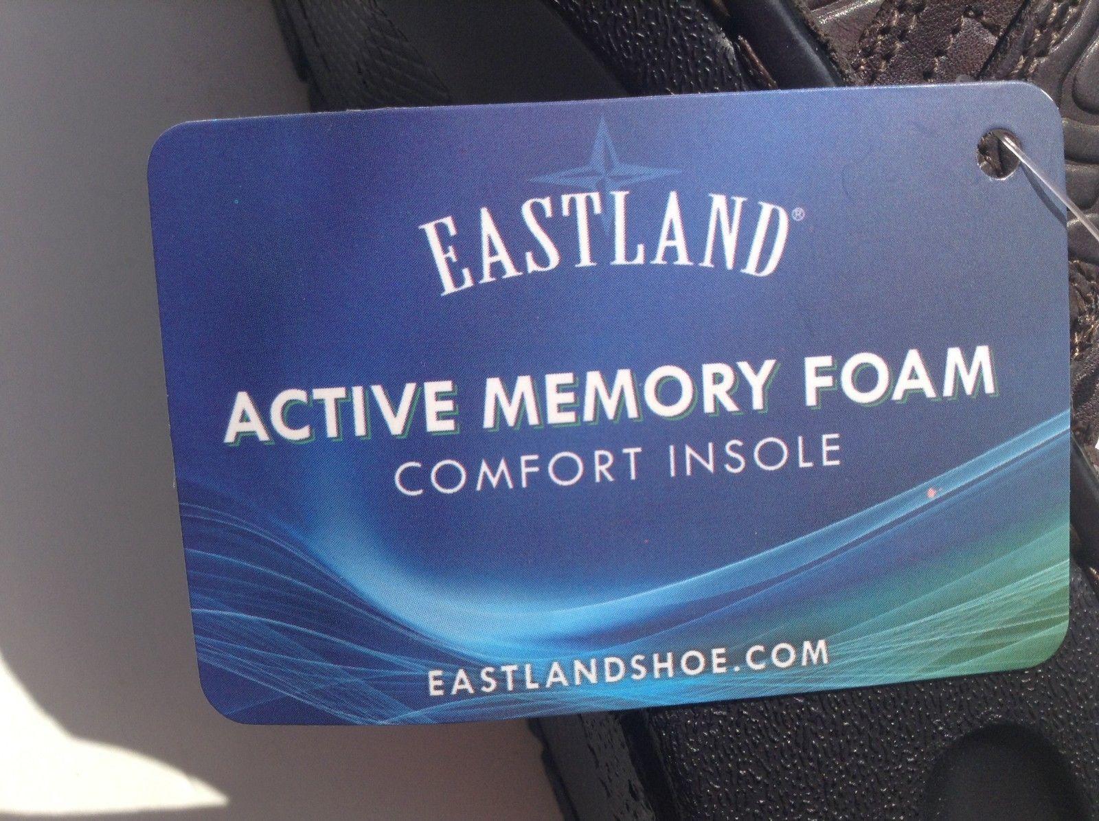 Eastland Women's Cora Brown Floral 7.5 Medium Active Memory Foam