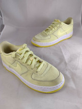 Nike Air Force 1 LV8 (GS) Shoes Size 5.5Y Youth Citron Tint Yellow AV8183 800  - $39.99