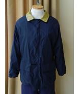 Loro Piana Jacket Horsey Leather Collar Barcelona Water Repellant Coat N... - $345.51