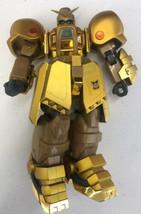 "Sotsu Agency Sunrise Bandai 2001 Gold Gundam Action Figure 7"" Incomplete - $12.19"