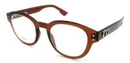 Christian Dior Eyeglasses Frames Dior CD2 2LF 46-22-145 Transparent Brown Italy - $196.00