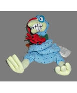 """Meanies Cold Turkey Collectible w/Tags Shocking Stuffers Beanie Sits 4 3/4"""" - $4.95"""
