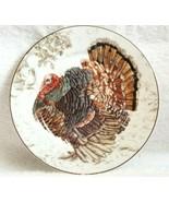 Williams Sonoma Set/4 PLYMOUTH TURKEY SALAD PLATES Thanksgiving NWOT NICE! - $75.00