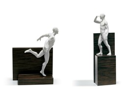 Lladro Retired SET 01011897 Faster, 01011899 Higher Limited Edition New ... - $1,565.35
