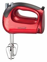Brentwood Appliances HM-46 5-Speed Red Hand Mixer - $32.60