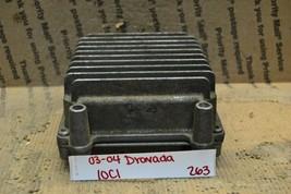 03-05 Chevrolet Trailblazer Engine Control Unit ECU 12574976 Module 263-... - $14.99