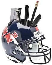 Ole Miss Rebels NCAA Football Schutt Mini Helmet Desk Caddy - $21.95