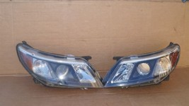 08-12 Saab 9-3 Halogen Headlight Lamps Set Pair L&R - $251.28