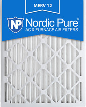 Nordic Pure 12x24x2 Pleated MERV 12 Air Filters 3 Pack - $30.02