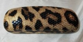 FOSTER GRANT Sofia Vergara Leopard print Eye Glasses Sunglasses Hard Case - $4.94