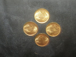 Wholesale Lot 4-18MM Egyptian Egypt Gold Coin Vintage Pyramid Antique Coins - $8.90