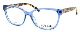 Fossil FOS 7008 QM4 Women's Eyeglasses Frames 52-15-140 Crystal Blue + CASE - $79.00