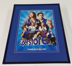 Superstore 2018 NBC Framed 11x14 ORIGINAL Advertisement America Ferrera - $32.36