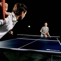 Ping Pong Table Tournament Size Fold-Up Design Easy Storage & Playback P... - $205.20