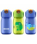 NEW Zoku Kids Flip Straw Bottles, 3-piece Set SELECT COLOR FREE SHIPPING - $37.99