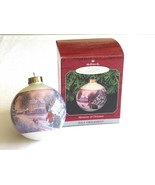 1998 Hallmark Christmas Tree Ornament Memories of Christmas USA Made Bal... - $12.99