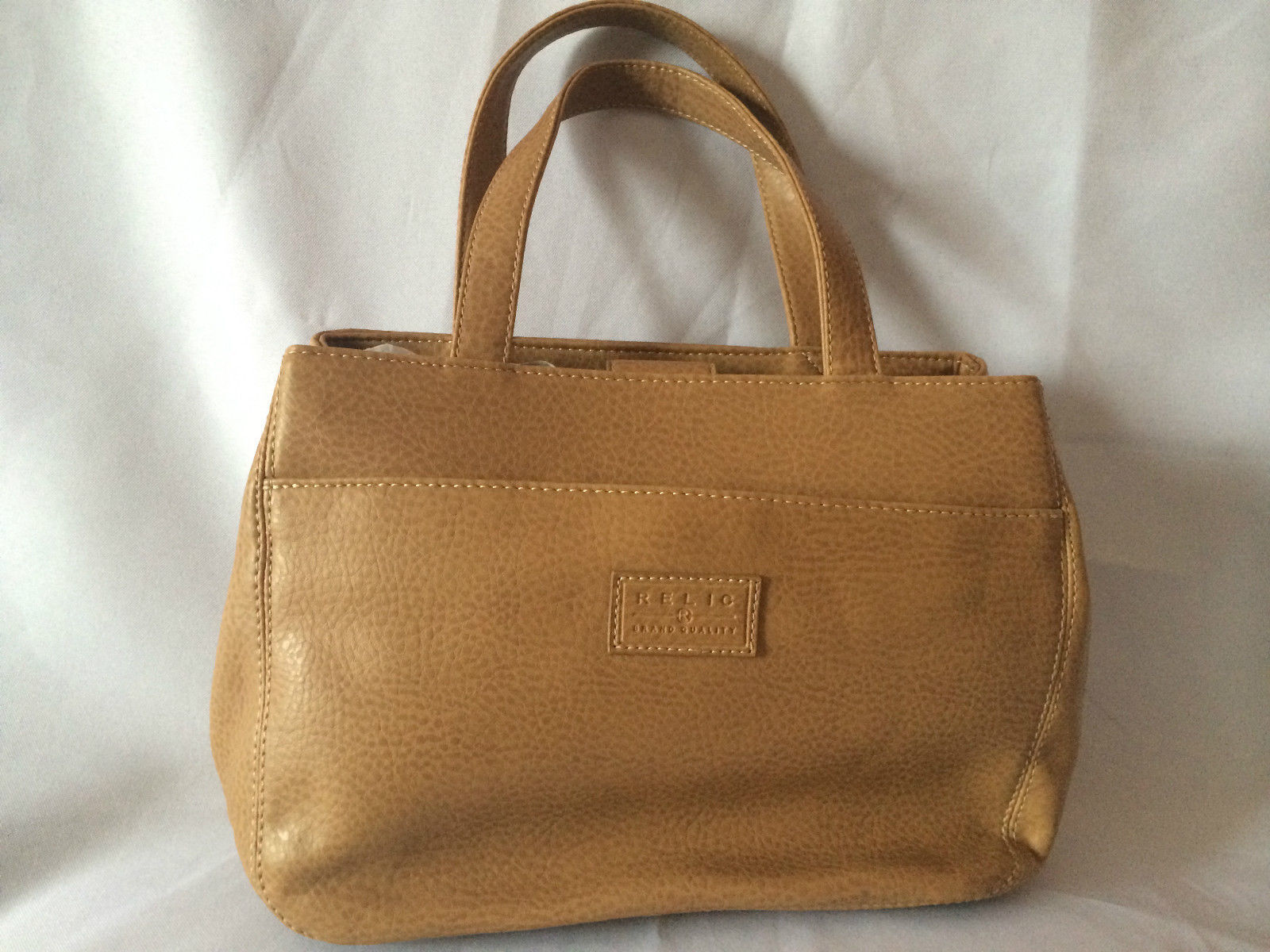 RELIC Brand Quality Brown Leather Bag with and 31 similar items. S l1600 ea51fa2b17e54