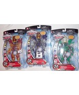 Power Rangers RPM FIGURE LOT (3) MOC red green brown 100% MMPR - $29.91