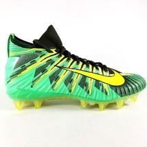 Nike Alpha Menace Elite Football Cleats 871519-337 Green Volt Mens Size 12 - $60.73
