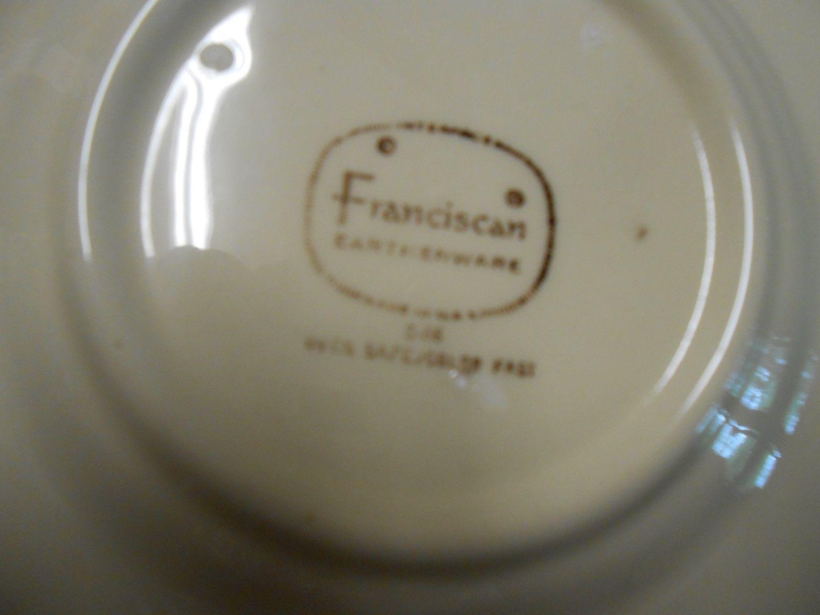 "Great Collectible  6 FRANCISCAN ""Desert Rose"" Dessert/Bread/Salad PLATES.. 6.25"""