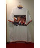 Vtg Michael Jordan & Kobe Bryant LAKERS vs BULLS 1991 NBA Finals T-Shirt... - $80.00