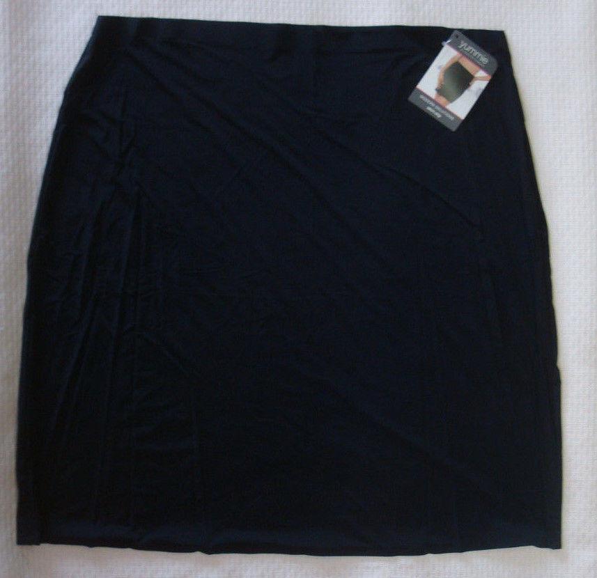 New Yummie by Heather Thomson Women's Astor Modern Solutions Skirt Slip Black M