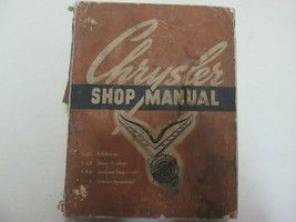 1954 Chrysler C-62/C-63/C64/C-66 Service Repair Shop Manual FACTORY OEM  - $29.69