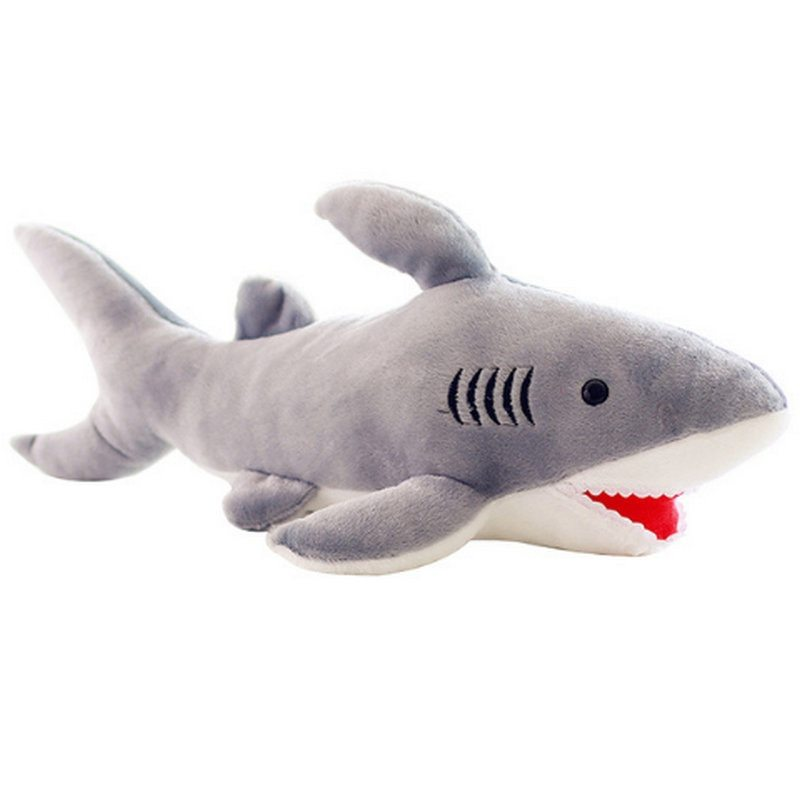 High quality 70cm shark plush toy stuffed pillow doll birthday gift kids toy baby toy nice