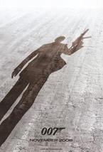 2008 James Bond 007 Daniel Craig Promotional Movie Poster spy secret age... - $7.99