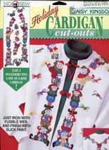 Daisy Kingdom Cardigan Cut-Outs Santa's Elves - $9.78