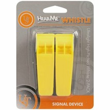 UST Marine Yellow Emergency Whistle Survival Gear Disaster Prep Camp Sig... - $7.83