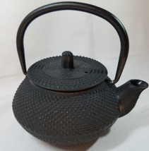 11 oz Cast Iron Teapot with Infuser Japanese Tea Pot - Matte Black - Tokyo - €17,57 EUR