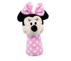 Kids Preferred Disney Baby Minnie Mouse Stick Rattle Toy - $8.06