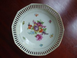 Porcelain Bowl Schumann Bavaria White w/ Mixed ... - $15.80