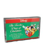 Disney Twelve Days of Christmas Mickey Mouse and Friends 1991 Audio Cass... - $9.89