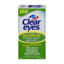 Clear Eyes Maximum Itchy Eye Relief Eye Drops, 0.5 fl oz - $5.09
