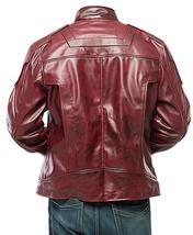Star Lord Costume Guardians of Galaxy Vol 2 Chris Pratt Biker Leather Jacket image 4