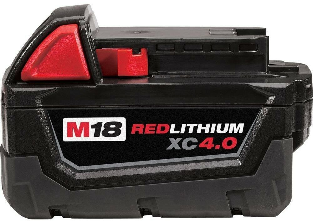 Primary image for Milwaukee Power Tool Battery Pack 4.0Ah 18-Volt Lithium-Ion Rechargeable