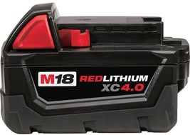Milwaukee Power Tool Battery Pack 4.0Ah 18-Volt Lithium-Ion Rechargeable - $131.25