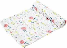Angel Dear Swaddle Baby Blanket Hickory Dickory Dock Muslin Cotton Nwt - $14.99